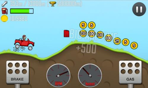 Hill Climb Racing para Android