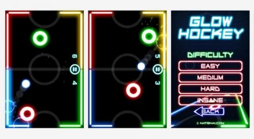 Glow Hockey para Android