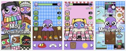 Moy 2 Mascota Virtual para Android