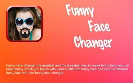 Recopilacion de aplicaciones para cambiar imágenes de caras
