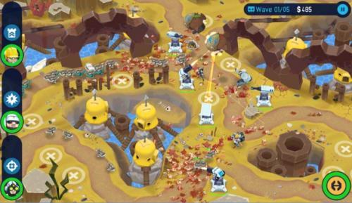 OTTTD, un juego de aliens y científicos para Android