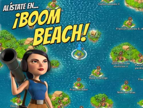 Boom Beach, un nuevo ¿Clash of Clans? para Android