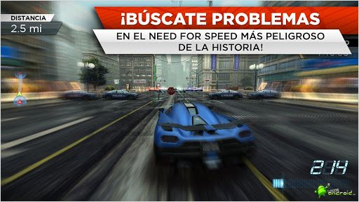Need for Speed Most Wanted Movil