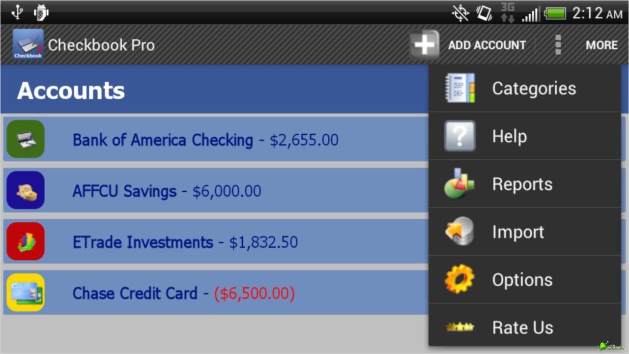 aplicacion finanzas android