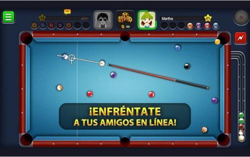 8 Ball, el clásico juego de billar para android